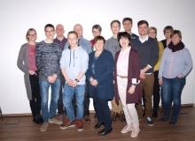 Der neue Vorstand der Kolpingsfamilie Paderborn-West.