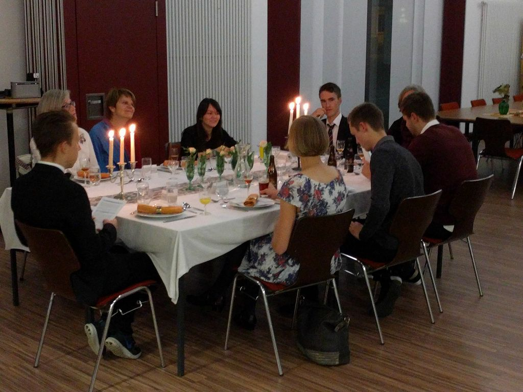 Krimi Dinner mit der Kolpings Familie