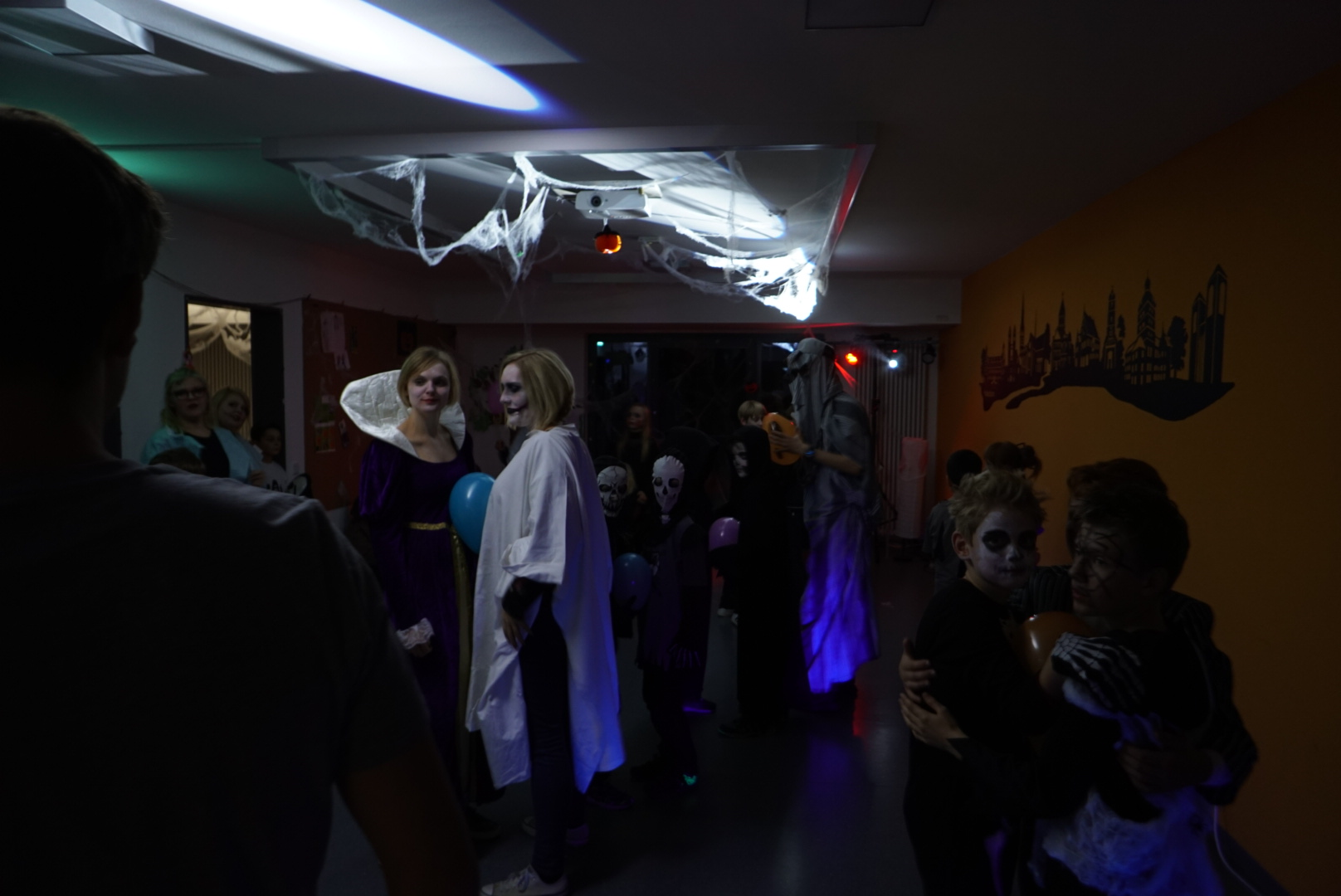 Gruselparty an Halloween