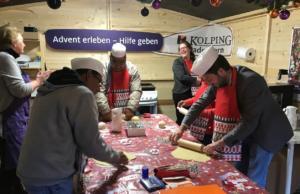 Gruppenstunde auf dem Weihnachtsmarkt