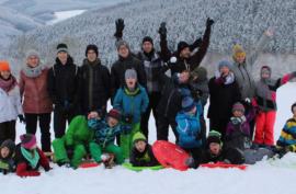 Winterwochenende 2018 in Sundern, Gruppenfoto | Kolpingjugend Paderborn-West