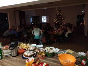 Jahreswechselfeier mit Weihnachtsbaumschau